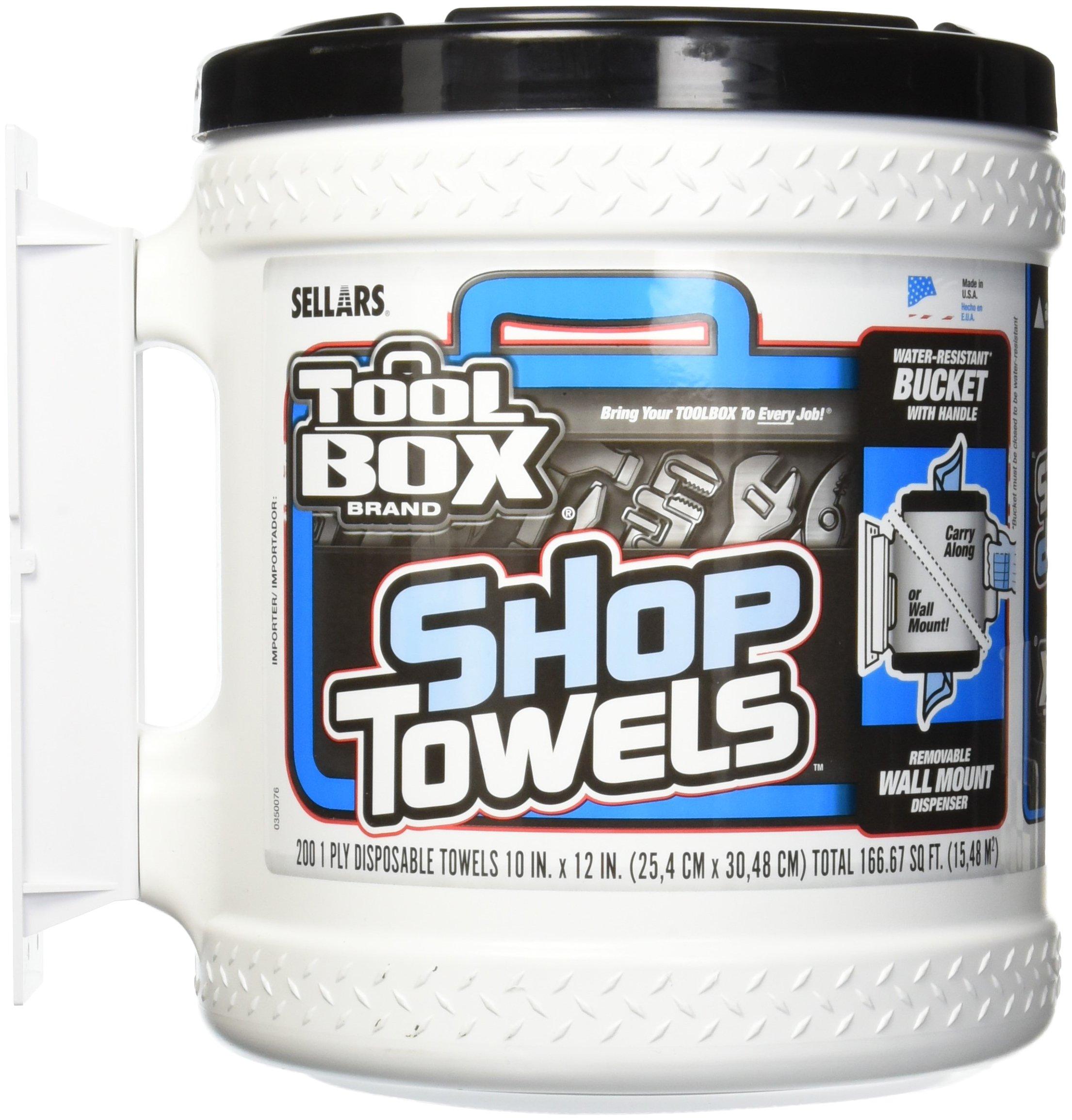 Sellers Z400 Big Grip Bucket of Shop Towels