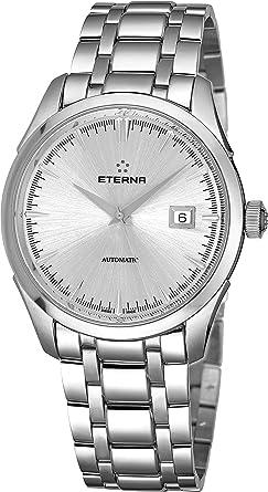 Eterna Eternity Legacy Reloj de Hombre automático 41.5mm 2951-41-10-1700: Eterna: Amazon.es: Relojes