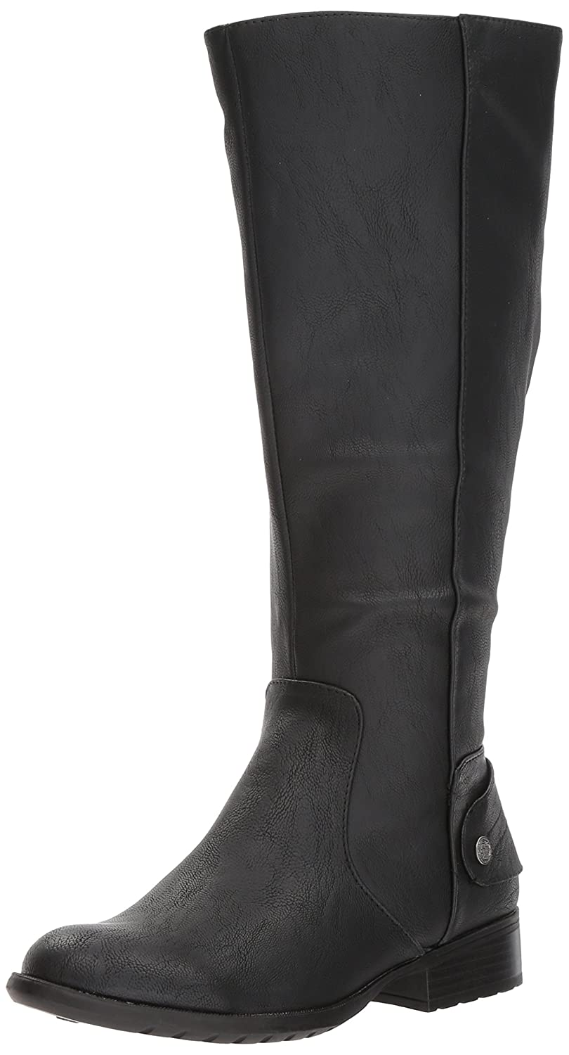 LifeStride Women's Xandywc Equestrian Boot B075FC89G3 9.5 W US|Black Wc