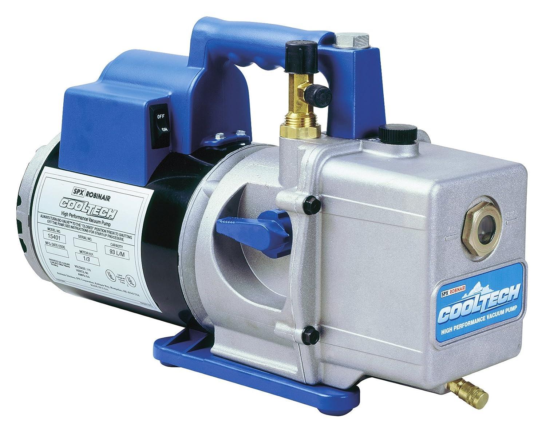 Robinair 15401 Cooltech Vacuum Pump 2 Stage 93 Ac Unit Wiring Diagram Liters Minute Automotive