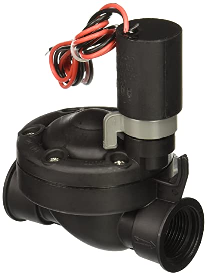Galcon 3652 3/4-Inch Sprinkler Valve with S1602 DC Latching Solenoid for  Battery Operated Controllers