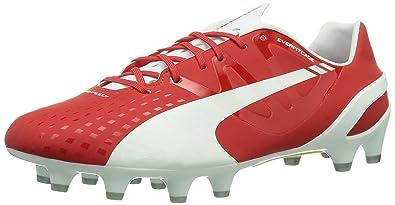 0c55ae81 Puma Evospeed 1.3 Fg, Men Football Boots, Red (White High Risk Red ...