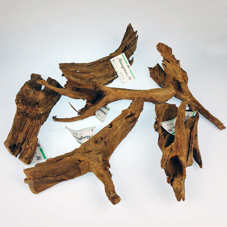 JBL Raíz de madera de Mangle para acuarios y terrarios, mangle Gr. M, 67032: Amazon.es: Productos para mascotas