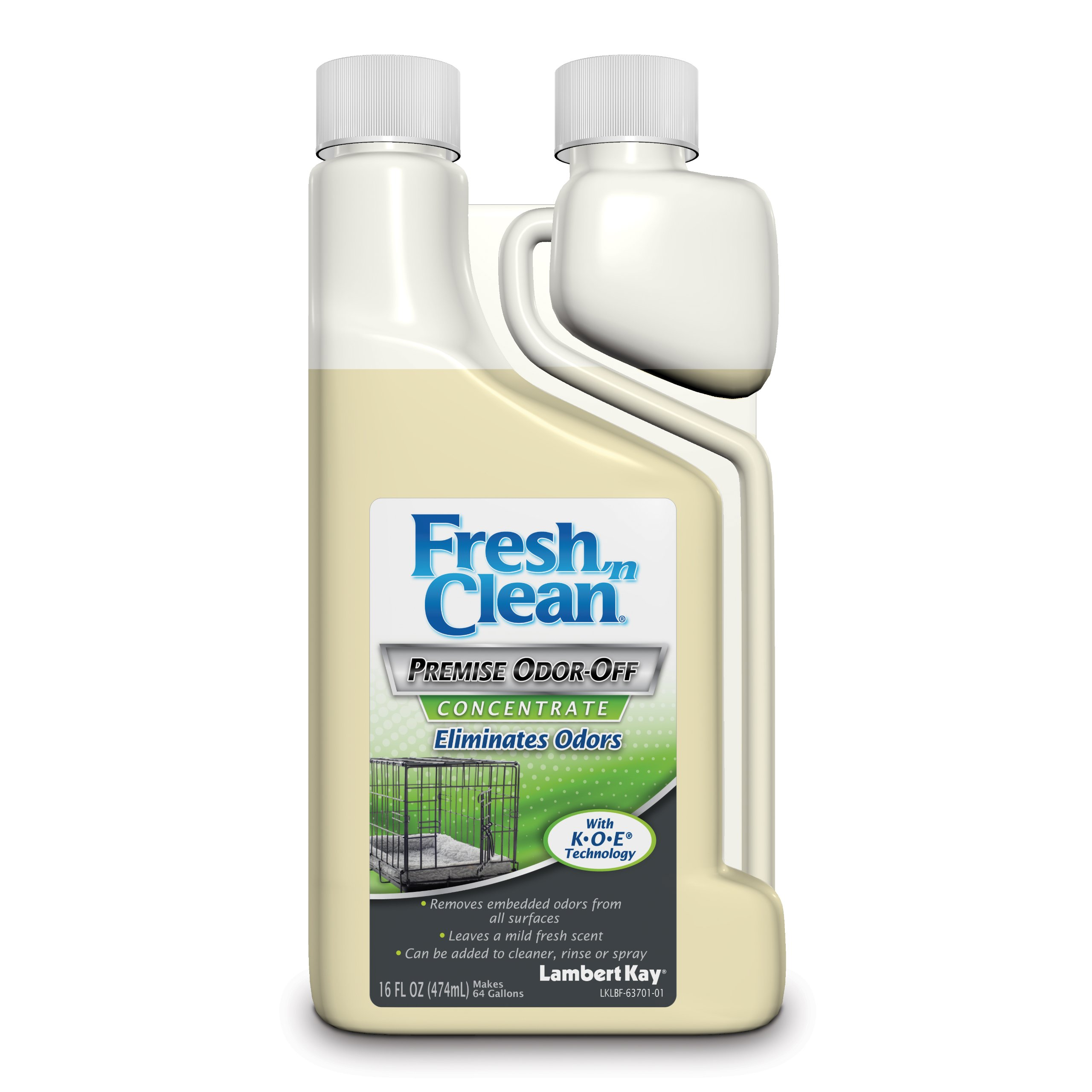 Lambert Kay Fresh 'n Clean Premise Odor Off Concentrate, 16-Ounce