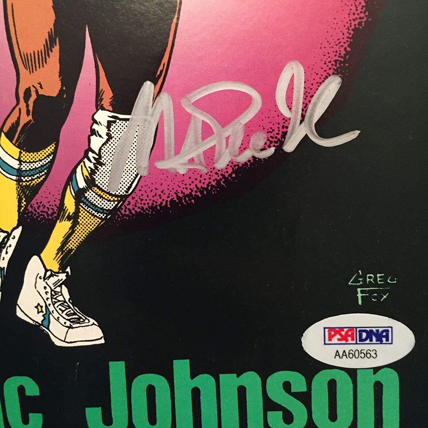 Magic Johnson Autographed Signed Memorabilia Sports Basketball Superstars Comic Book Magazine - PSA/DNA at Amazons Sports Collectibles Store