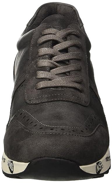 North Star 8412737, Sneaker a Collo Basso Uomo, Grigio, 43