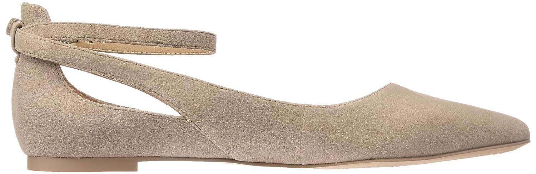 Franco Sarto Women's Sylvia Pointed Toe Flat B01L7W7V9M 6.5 B(M) US|Seppia