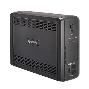 AmazonBasics Line-Interactive UPS 1500VA 900 Watt, 10 Outlets