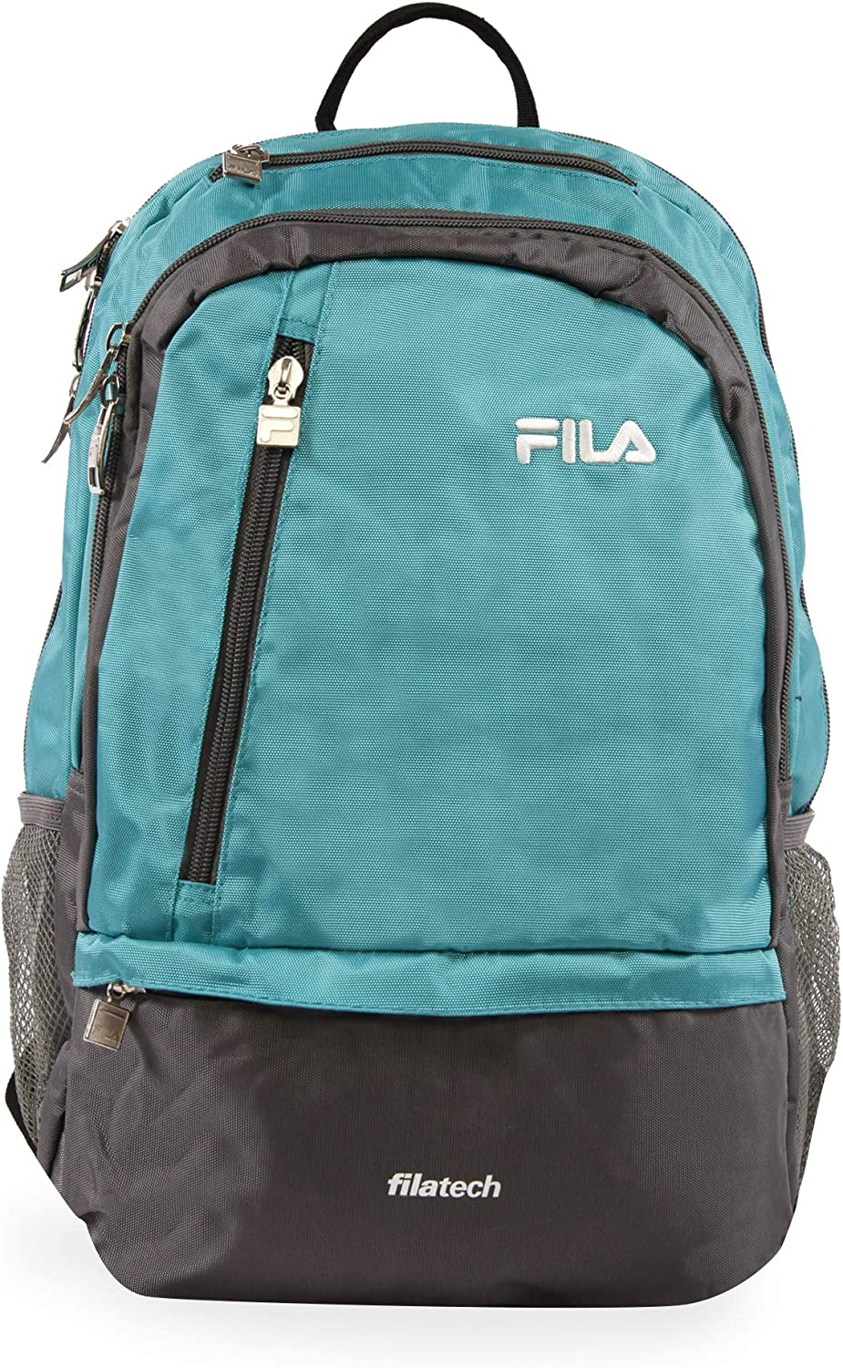 Fila Duel Tablet and Laptop Backpack, Teal, One Size