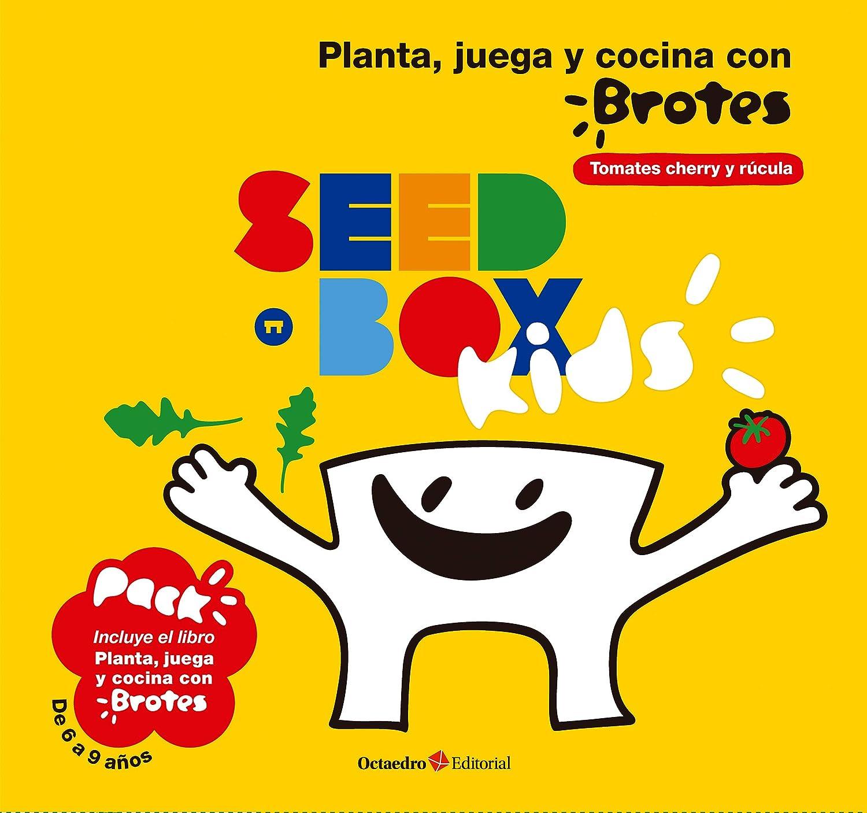 Seedbox SBKBR - Huerto urbano infantil de rúcula y tomates cherry ...