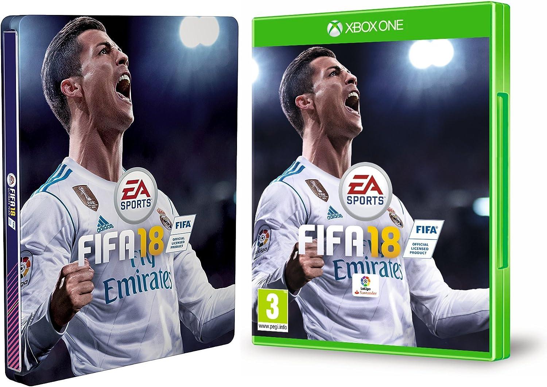 FIFA 18 - Edición estándar + Steelbook (Edición Exclusiva Amazon ...