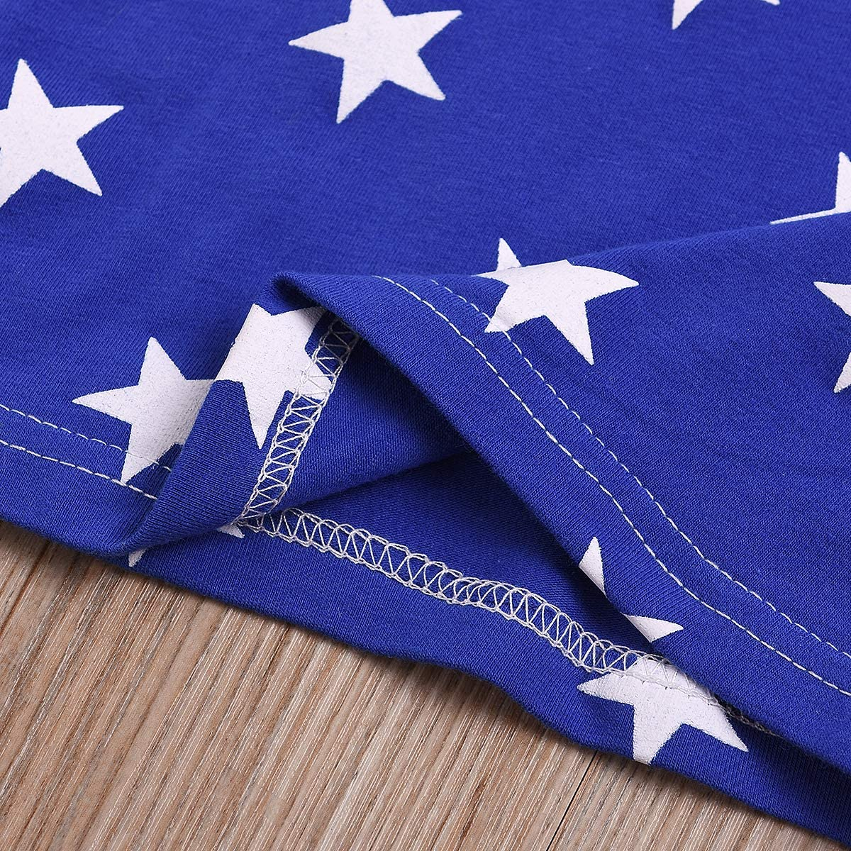 YOUNGER TREE Newborn Baby Boy Girl Pants Set My 1St 4th of July Independence Day American Star Outfits