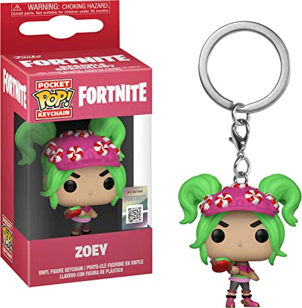 Funko Pop! Keychain: Fortnite - Zoey Toy, Multicolor