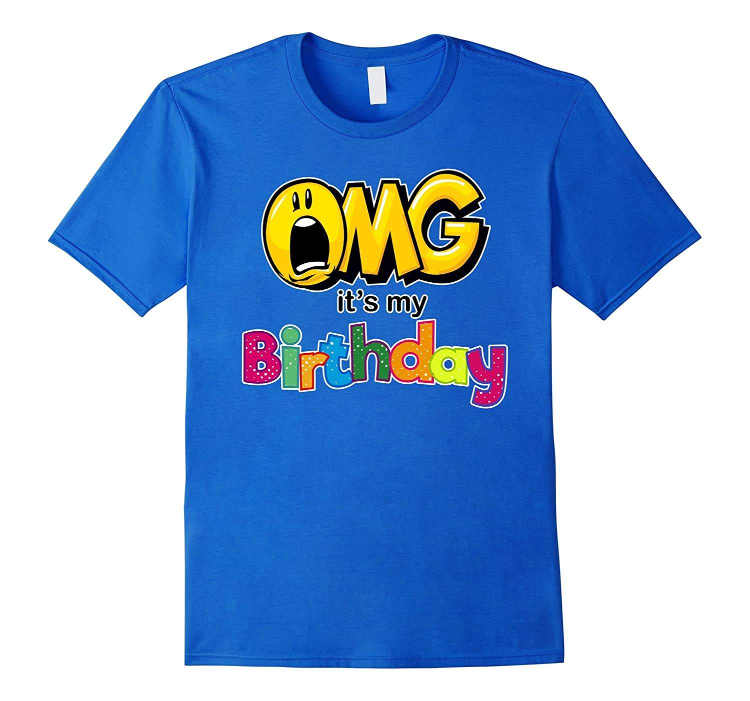 OMG Its My Birthday Emoji Shirt For Kids Women And Men ANZ