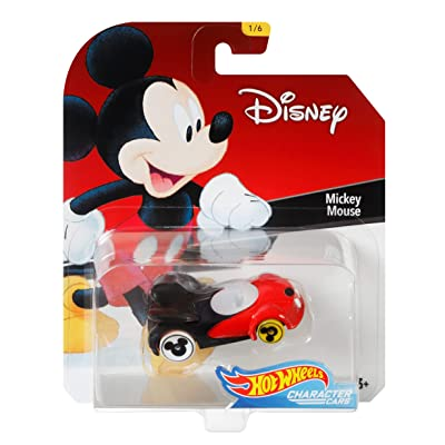 Hot Wheels Mickey Mouse Vehicle, 1:64 Scale: Toys & Games