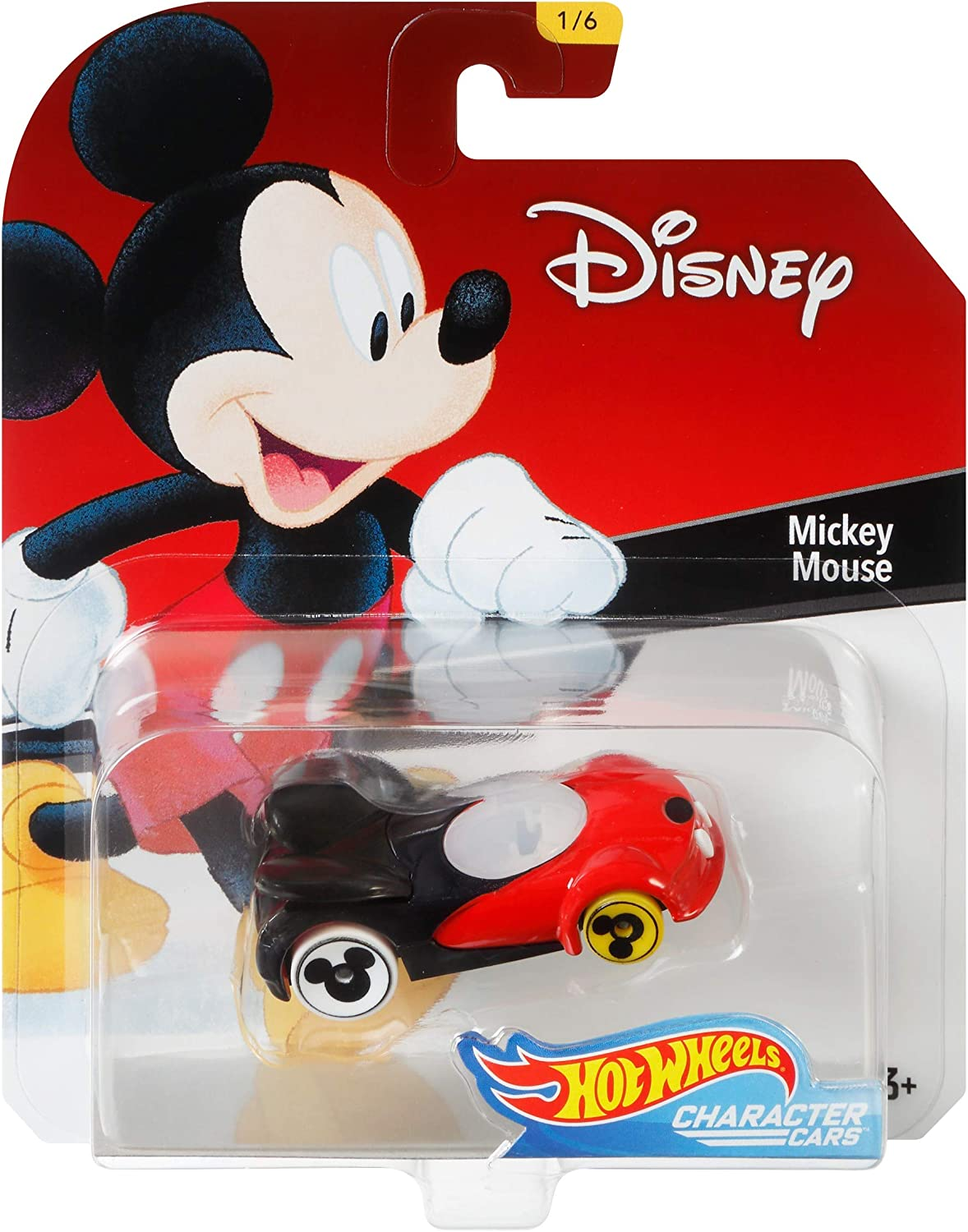 Hot Wheels Disney 90th Anniversary Mickey Mouse 4-Pack Collectible Set