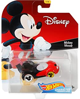 Hot Wheels Mickey Mouse Vehicle, 1:64 Scale