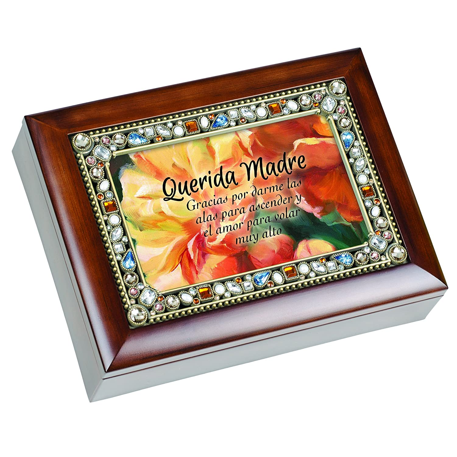 【数量限定】 Querida Madre Dear Mother Jeweled Thou Wood Querida Grain音楽ジュエリーボックス記念品 Art – How Great Thou Art B00VH27468, アバシリシ:896d7622 --- arcego.dominiotemporario.com