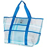 CGear Sand-Free Multi-Pocket Beach Tote Bag I - Patented Sand Free Technology - Large, Lightweight, Open Top Design…
