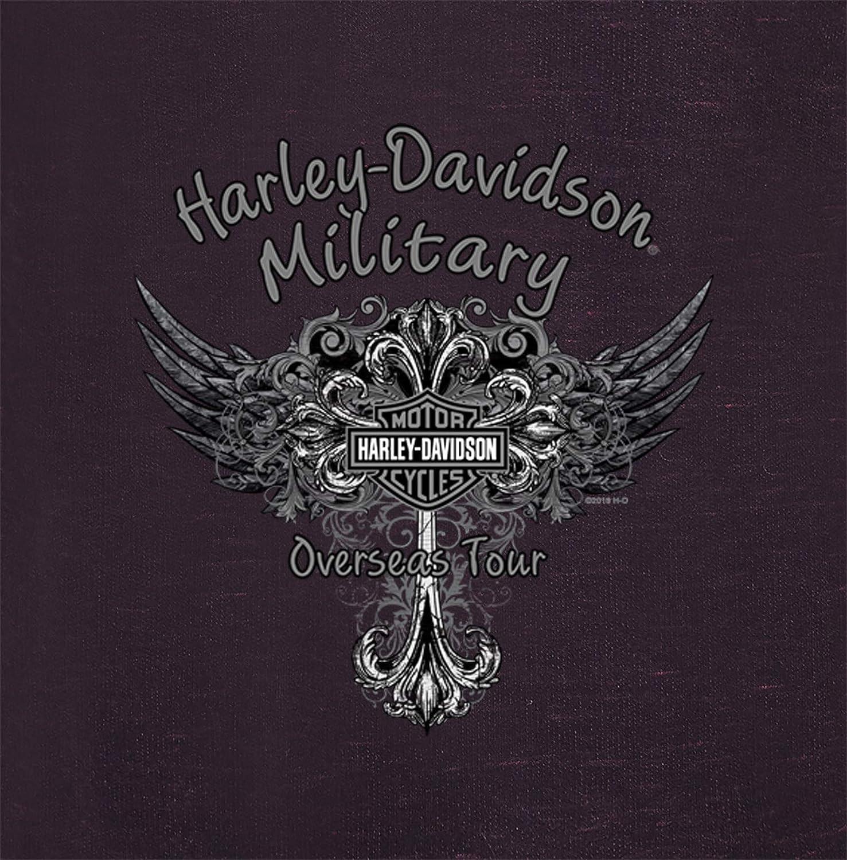 Beyond Overseas Tour Harley-Davidson Military Womens Zippered Hoodie