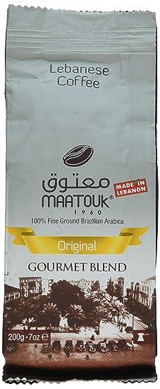 Maatouk Café Libanés Original Mezcla Gourmet 200g / 7oz (Paquete De 1)