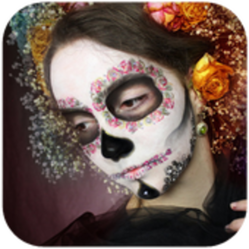 Easy Halloween Makeup Tutorial For Girls (Day of the Dead Makeup)
