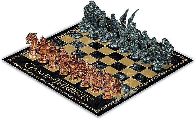 USAopoly Juego de ajedrez Juego de Tronos: Amazon.es: Juguetes y juegos