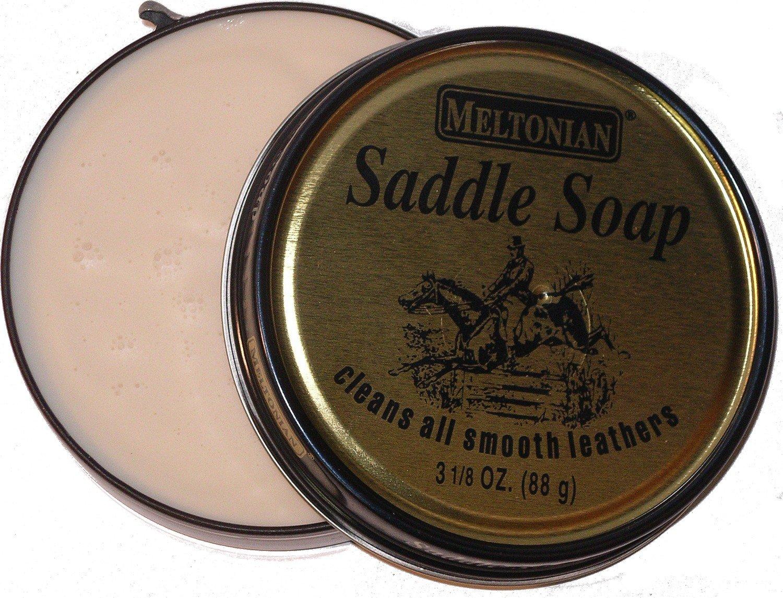 Meltonian Saddle Soap,3 1/8 oz (88g)