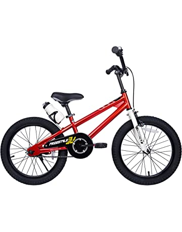 fcb835f2ca7 RoyalBaby Freestyle Kid's Bike for Boys and Girls, 12 14 16 inch with  Training Wheels