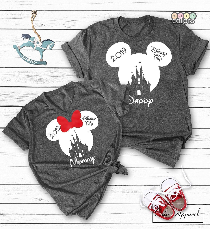 399bcfb01e762 Custom Family Vacation Shirts, Minnie Mickey Mouse Tank Tops, Women Men  Youth Matching T-Shirts