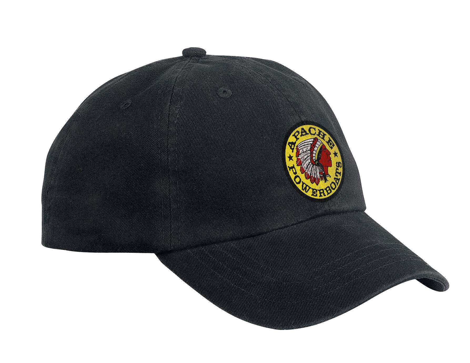 Apache Powerboats Offshore Champion Hat (Black) by Apache Powerboats