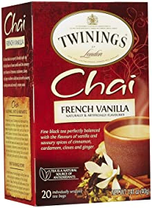 Twinings French Vanilla Chai, 20 ct