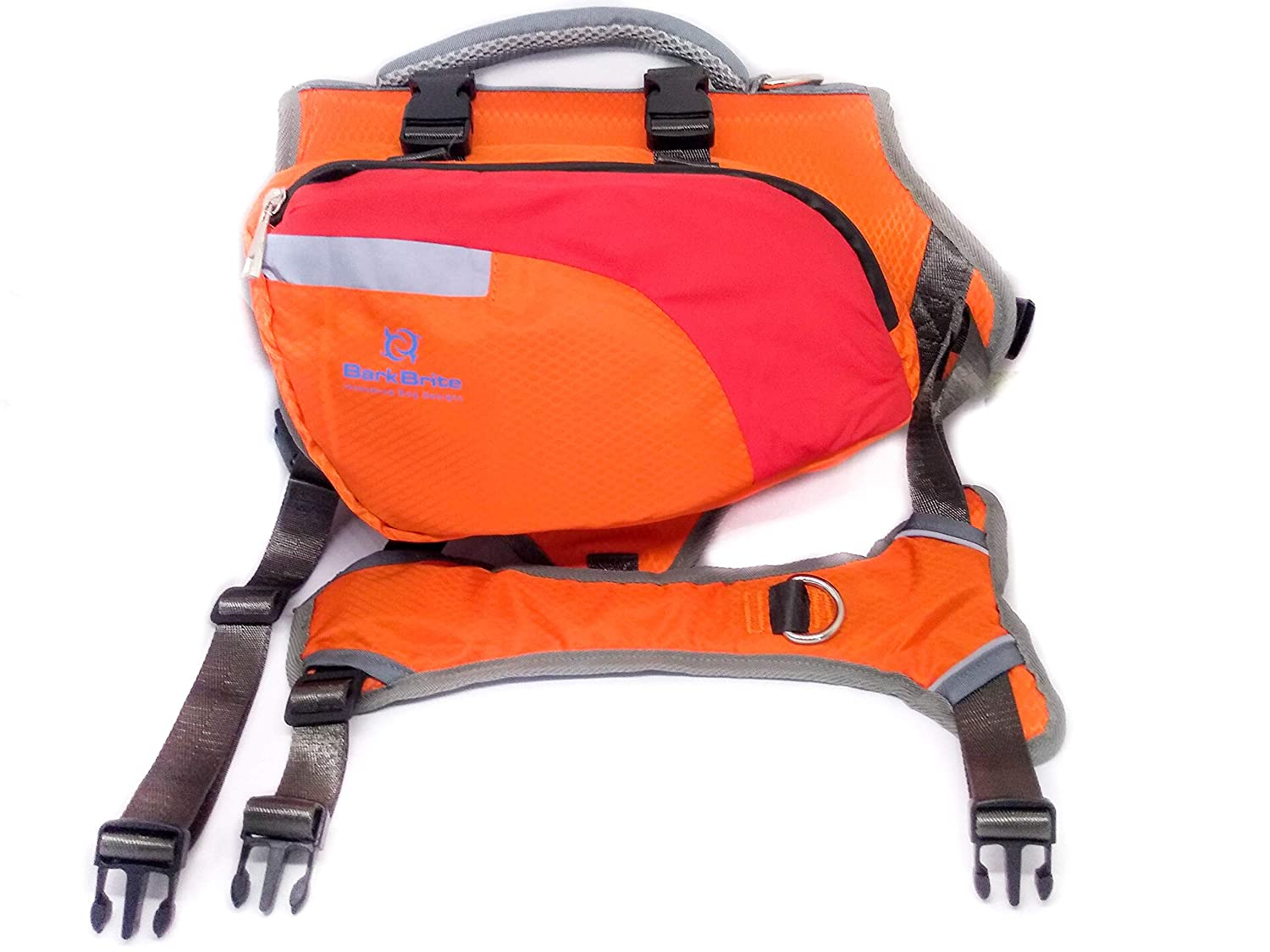 Multi-Purpose Dog Backpack Life Jacket