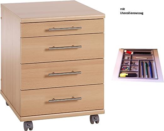 Rollcontainer Standcontainer Rollwagen Bürocontainer Schubladenschrank Büromöbel