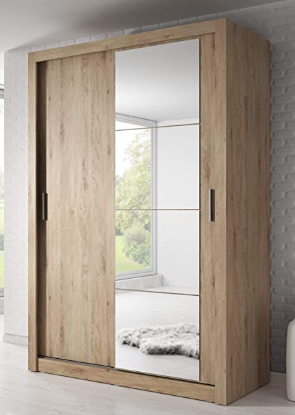 huge selection of 4a8c5 a602a Arthauss Modern Bedroom Mirror Sliding Door Wardrobe Arti 6 in Oak Shetland  120cm sold
