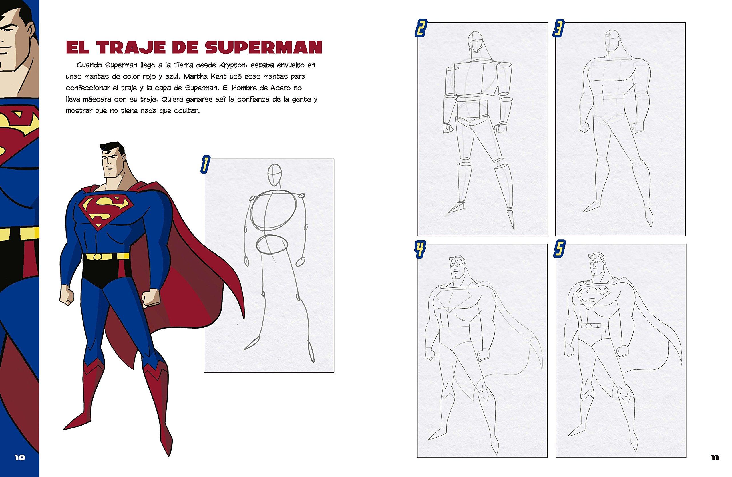 COMO DIBUJAR BATMAN SUPERMAN Y OTROS: Sautter Aaron ...