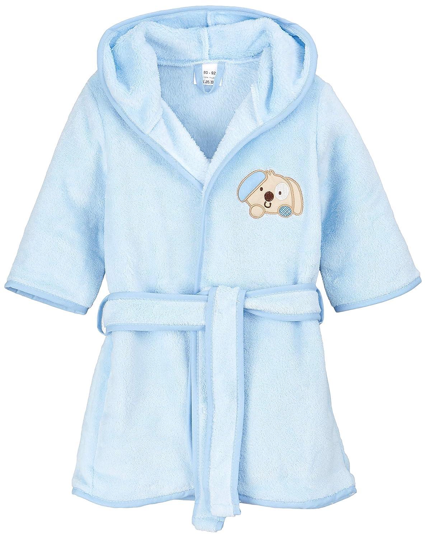 1-7 Yrs Beige 1-2 Yrs BlueberryShop Peignoir avec Capuche de luxe Polaire Doux Chaud Duveteux Brod/é pour Enfants 1-7 Ans
