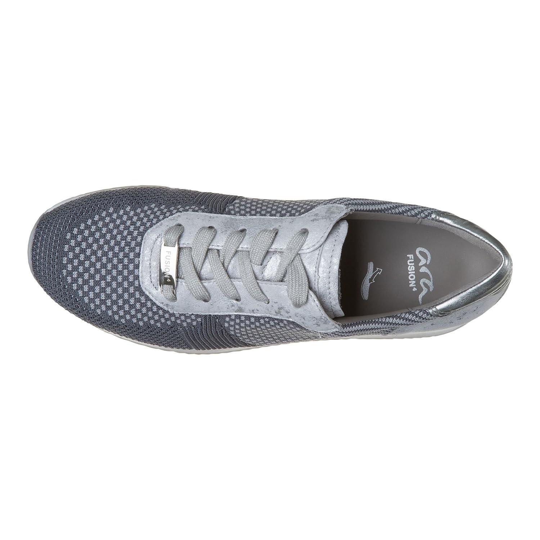 ARA Damen Damen Damen Lissabon Sneaker Grau 7ca583