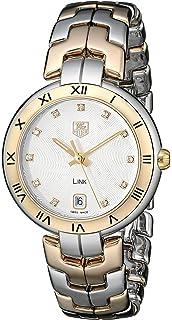 119ab102d096 TAG Heuer Women s WAT1352.BB0962 Link Analog Display Quartz Two Tone Watch