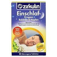 Zirkulin Einschlaf- Dragees Baldrian & Hopfen, 80 Stück