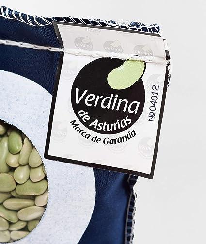Verdina de Asturias para potes asturianos - fabes verdinas Calidad Extra - saco de 1kg con recetario