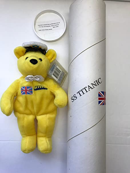 Titanic Plush Bear Set Limited Edition