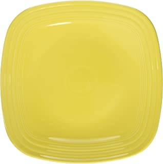 product image for Fiesta 10-3/4-Inch Square Dinner Plate, Sunflower
