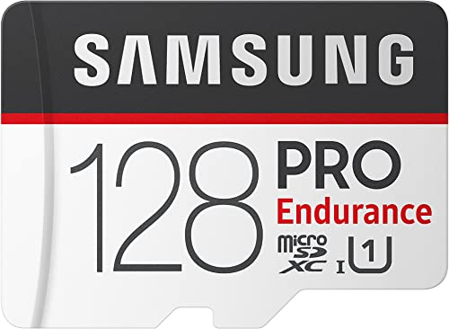 Samsung PRO Endurance 128GB MicroSDXC Memory Card with Adapter