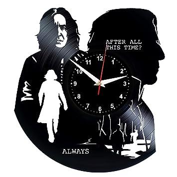 EVEVO Harry Potter - Reloj de Pared (Vinilo): Amazon.es: Hogar