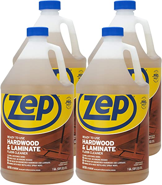 Amazon Com Zep Hardwood Laminate Floor Cleaner 128 Ounce