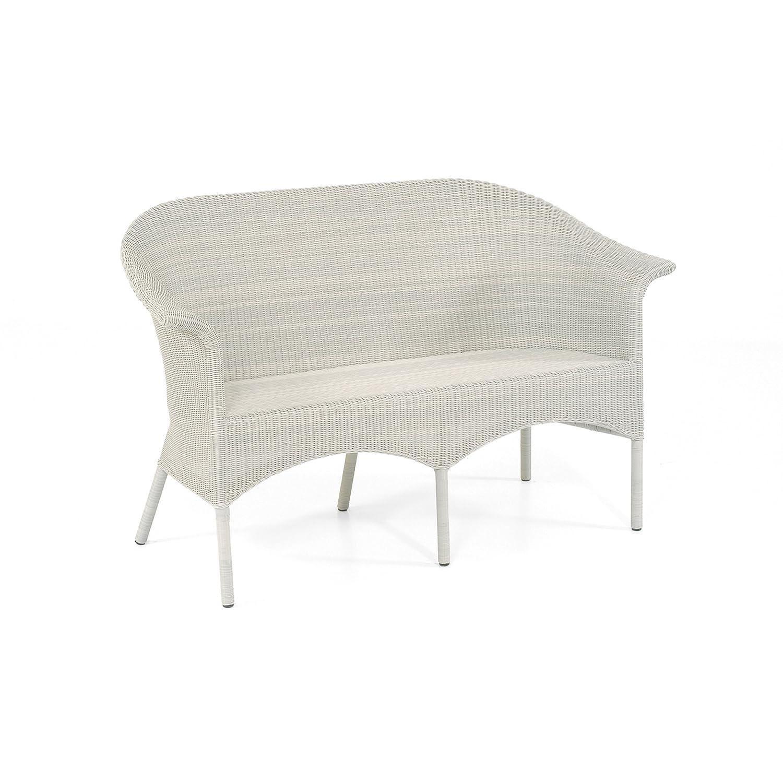Sonnenpartner Gartenbank Sitzbank Modell Cayman white washed 80081551