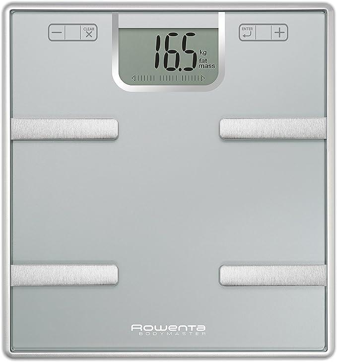 Rowenta Bodymaster BR6010V0 - Báscula de grasa corporal de cristal ...
