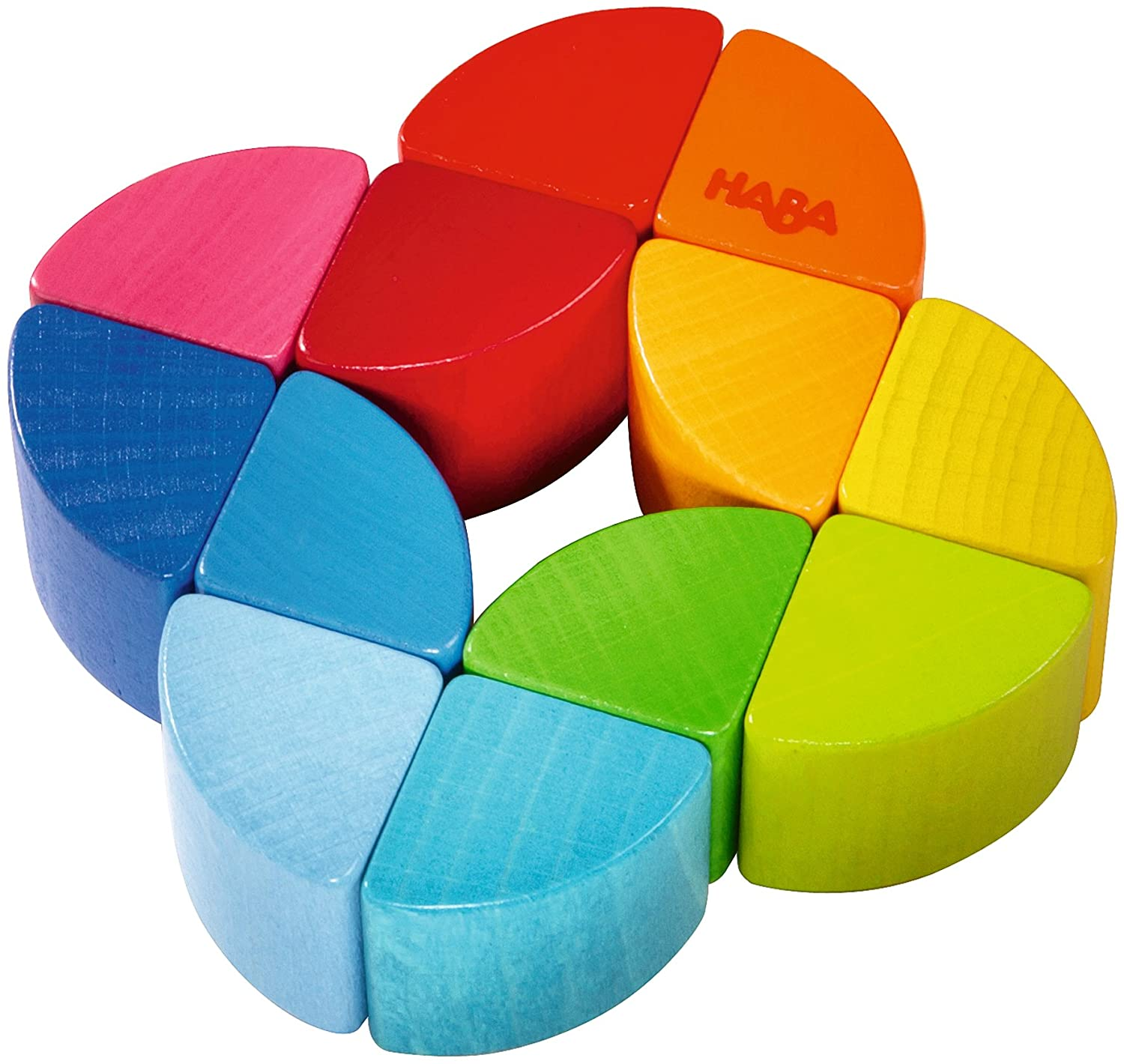 HABA Rainbow Ring Wooden Clutching Toy (Made in Germany) 2411