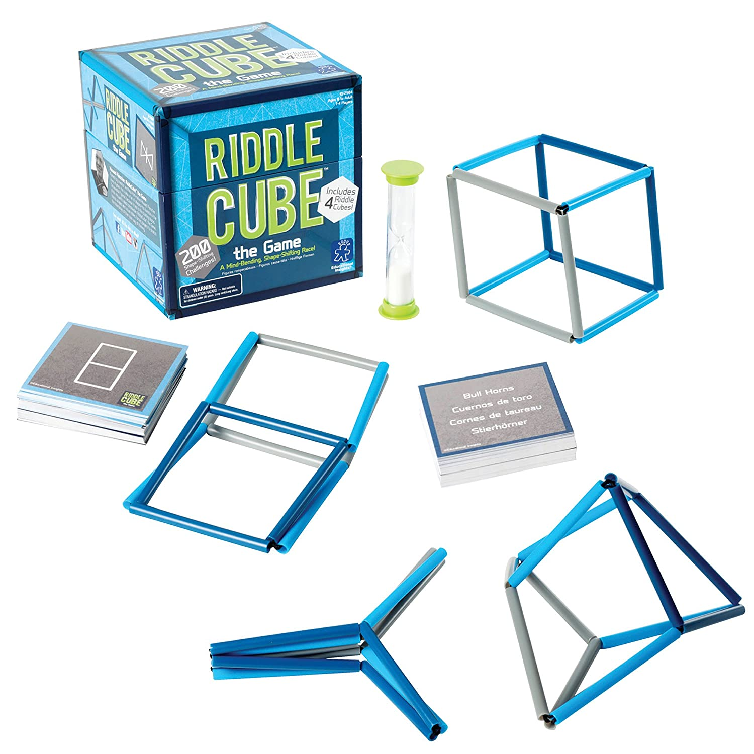Amazon.com: Educational Insights RiddleCube the Game: Toys & Games